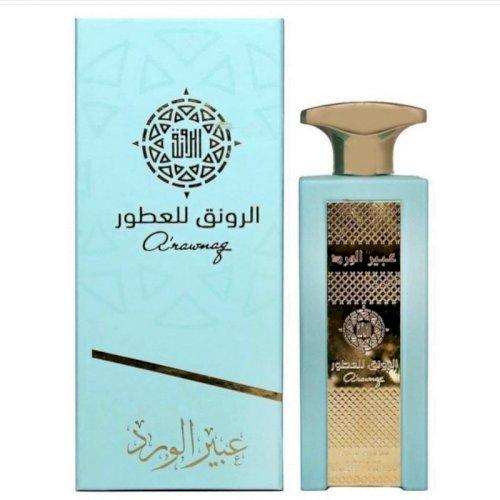 Alrawanaq-abeer al ward perfume 80ml unisex