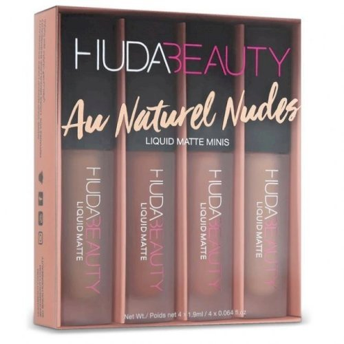 Huda beauty- Liquid Matte Minis ( au natural )