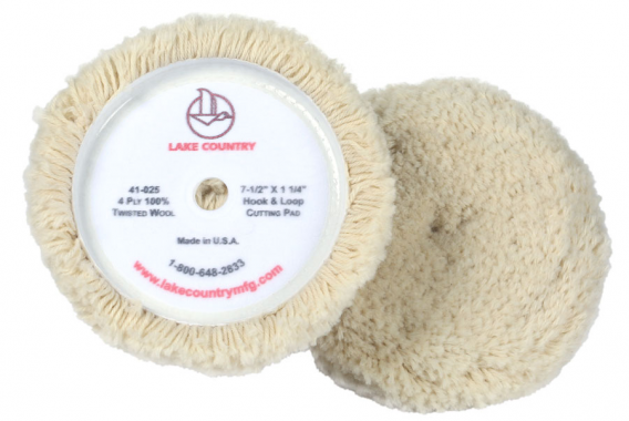 Lake Country - Single Side wool pad - 41-025
