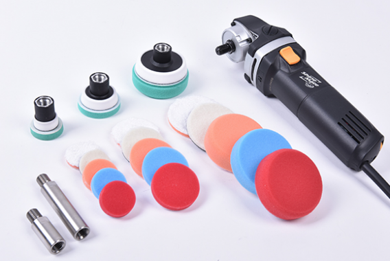 Rotary Polisher For Spot Repair Full Kit